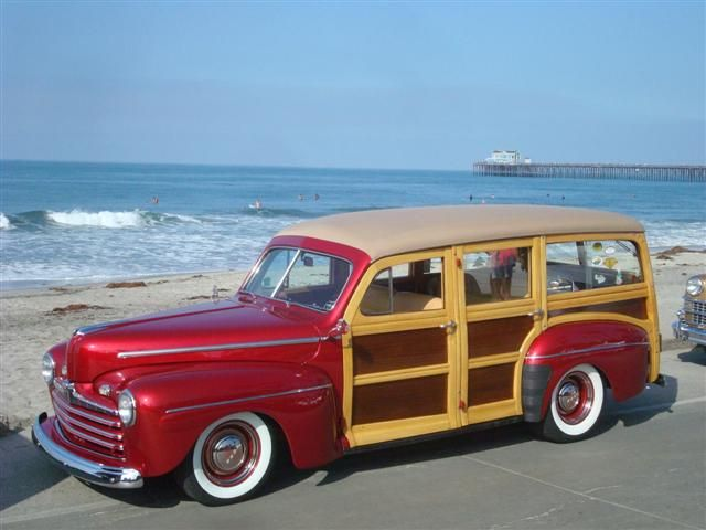 1946 Ford Woodie Wagon Maintenance/restoration of old/vintage vehicles: the material for new cogs/casters/gears/pads could be cast polyamide which I (Cast polyamide) can produce. My contact: tatjana.alic@windowslive.com