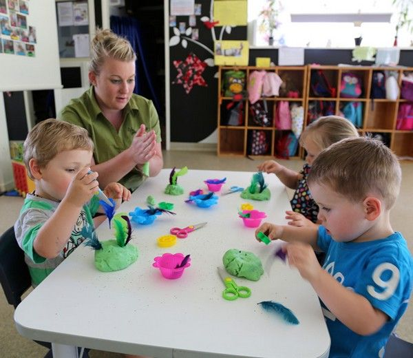 A play-dough experience is inclusive because it is an experience for all children. Play-dough is a non chemical substance that will not harm the child if consumed and it is soft and a great sensory experience that is recommended for children to play with.  We can embrace this inclusive experience by implementing it into one of our play routines- we can set up a table with a few seats where any of the children can sit at and play with it.