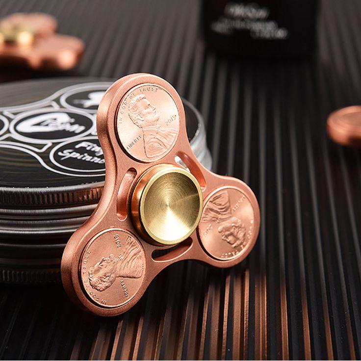 Penny Tri Fidget Spinner //Price: $15.95 & FREE Shipping //     #fidgetspinner