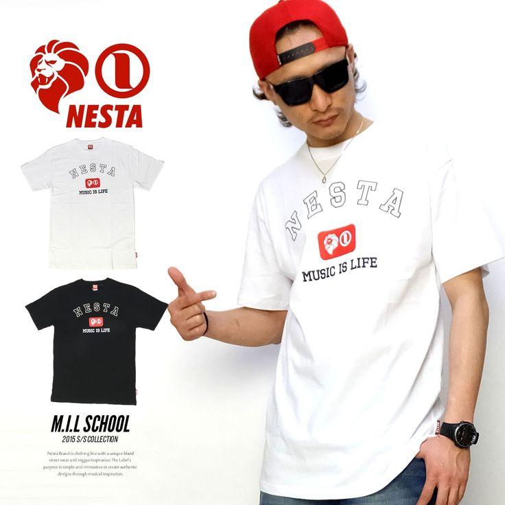 ネスタブランド NESTA BRAND Tシャツ メンズ M.I.L SCHOOL :5v4128:DEEP B系・ストリートファッション - 通販 - Yahoo!ショッピング