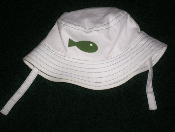 Baby Fishing Hats  Baby Boys Fishing Hat  Bucket by SugarBearHair