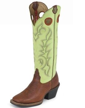 Still gotta love the buckaroo boots! AND green!