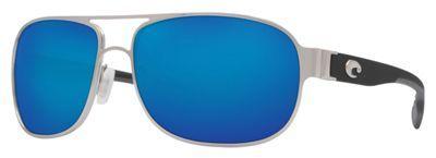 Costa Conch 580G Polarized Sunglasses - Palladium/Blue Mirror