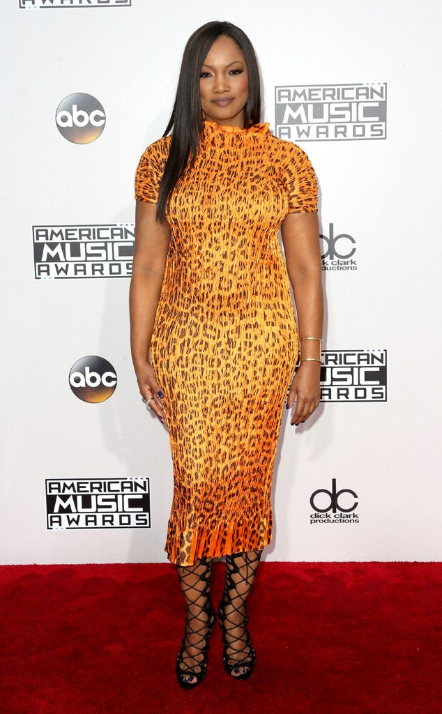 Garcelle Beauvais from 2016 AMAs Red Carpet Arrivals