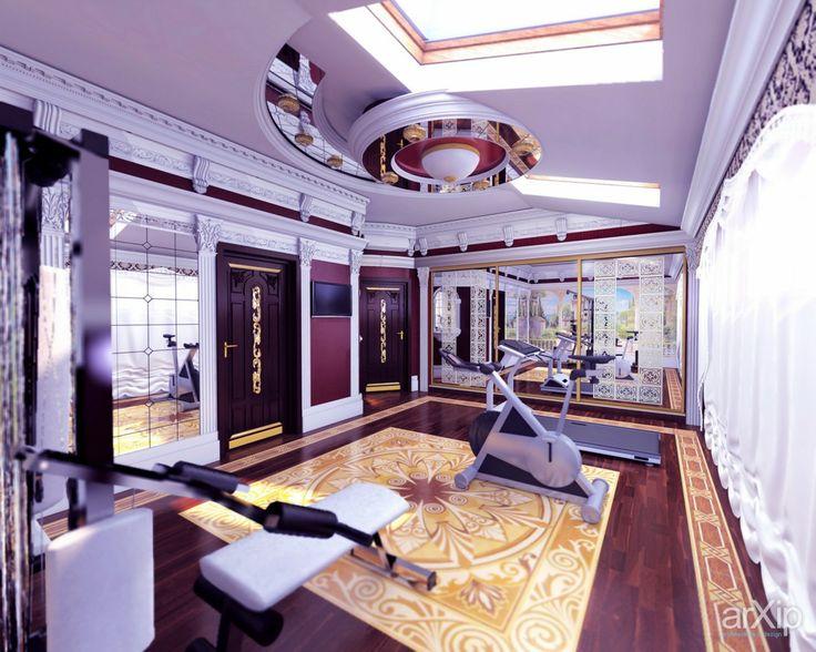 Роскошные апартаменты в центре Симферополя: интерьер, квартира, дом, эклектика, 20 - 30 м2, спортивный зал #interiordesign #apartment #house #eclectic #20_30m2 #gymnasium