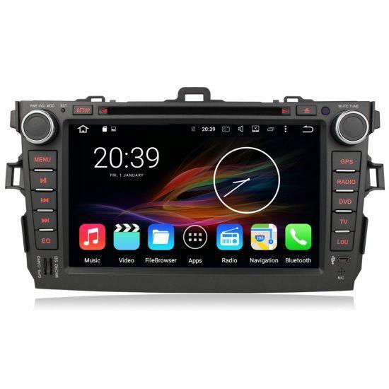 "8"" Android Autoradio Car Multimedia Stereo GPS Navigation DVD Radio Head Unit Toyota Corolla 2006 2007 2008 2009 2010 2011"
