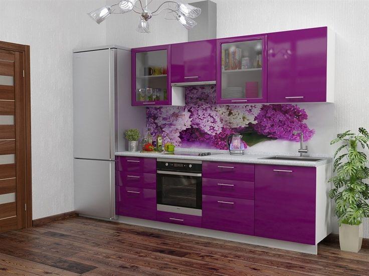 Картинки по запросу светло-сиреневая кухня столешница