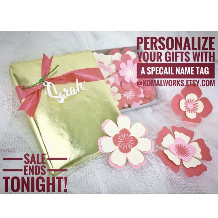 Make this #holidaySeason super Special by adding a personalized name tag! At checkout, leave us a message with the name you want on your gift! Its that simple!  #etsygifts #etsy #komalworks #paperdecor #giftsforall #Holidaygifts  http://etsy.me/2AsXEnG