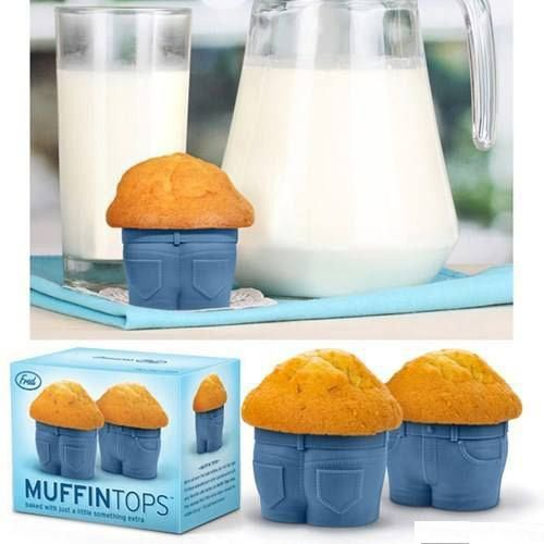 Muffin tops.