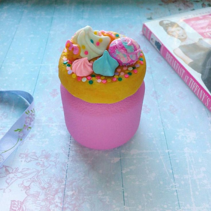 polymer clay decoration, candy