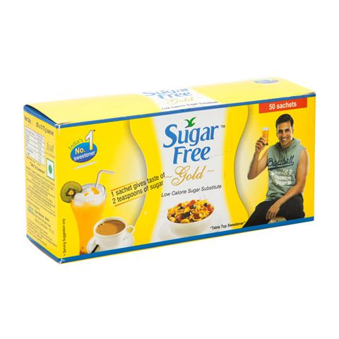 #Sugar Free Gold sachets can be used by all #health conscious people and also by those who are overweight, #diabetic or who suffer from high cholesterol problem.