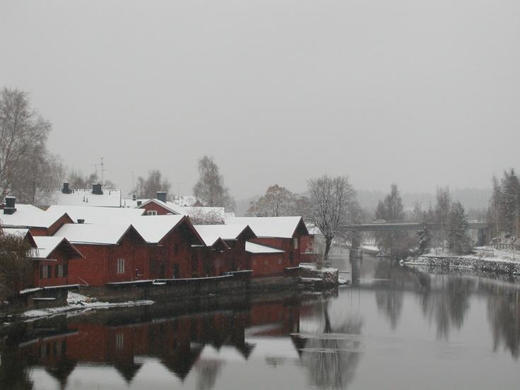 Porvoo in winter. www.visitporvoo.fi