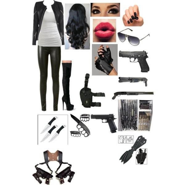 """Bad ass werewolf hunter/ real werewolf"" by morganhazelton on Polyvore"