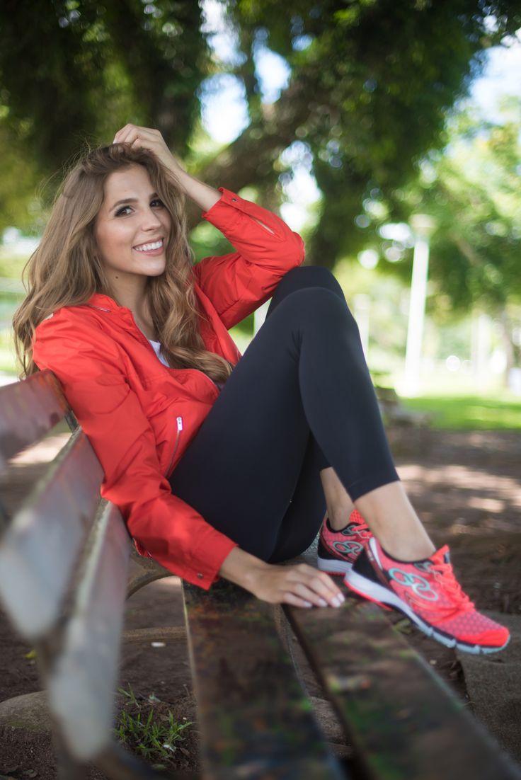 Look - Fit look | SulianeVieira.com |  Jaqueta Lacoste T-shirt Lacoste Legging Dudalina Tênis Olympikus Bolsa Lacoste
