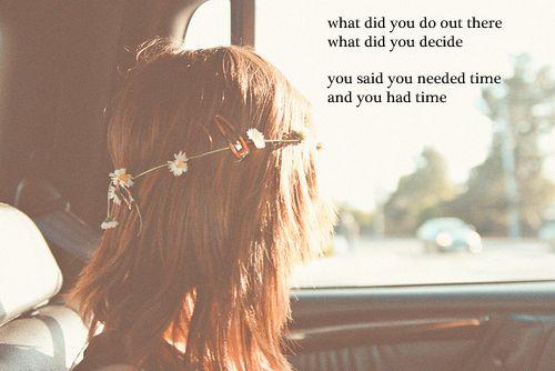 ani d. you had time.