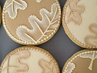Beautiful Fall Cookies from SweetAmbs
