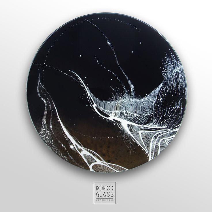 #glass, #design, #interior glass pendant by RONDO GLASS
