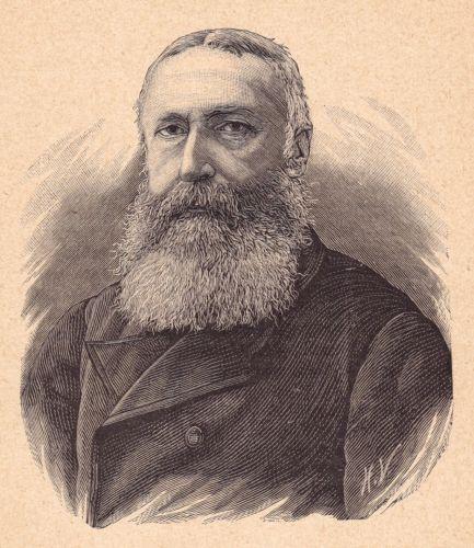 Portrait-XIXe-Leopold-II-Roi-des-Belges-Belgique-Saxe-Cobourg-Gotha