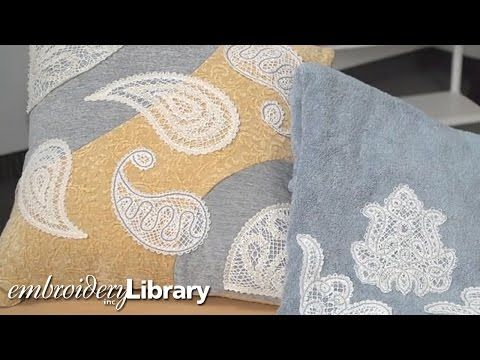 Quick Tip: How to Prevent Shifting and Gapping in Freestanding Lace - YouTube