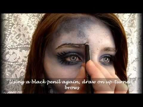 Corpse Bride Makeup (Audfaced) Bailey LOVES corpse bride ...