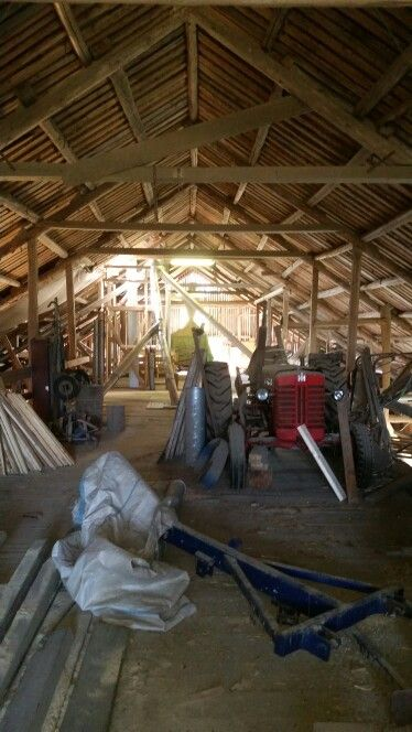 A small area of our barn.