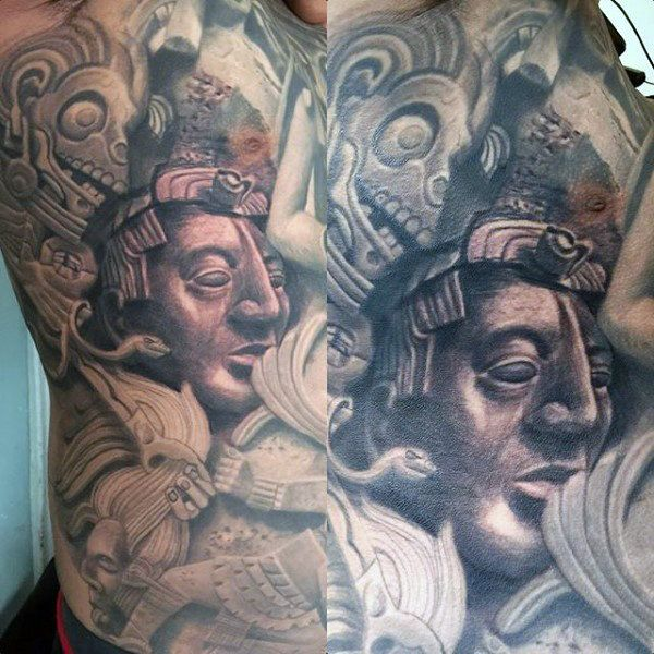97 Unbeatable Chest Tattoos For Men: 17 Best Ideas About Full Chest Tattoos On Pinterest