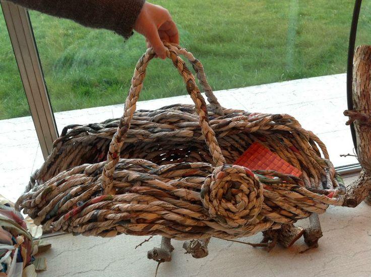 soft paper basket