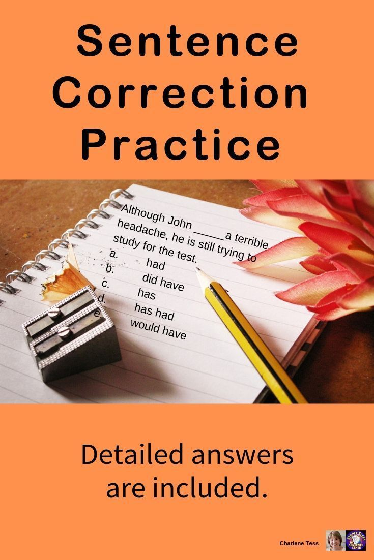 Sentence Correction Practice With Detailed Answers Grammar Worksheets Sentence Correction Grammar Worksheets Writing Prompts For Kids [ 1102 x 735 Pixel ]