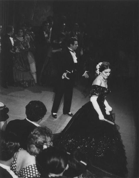 La Traviata, 1958. Alfredo Kraus and Maria Callas