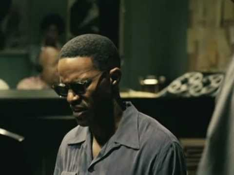 77th Winner : Jamie Foxx Oscar winning performance as Ray Charles in Ray (2004).