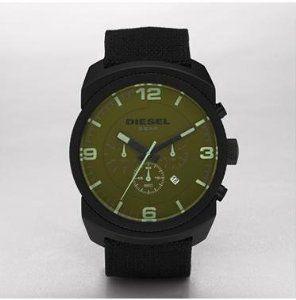 Diesel Chronograph Olive Watch Dz4194