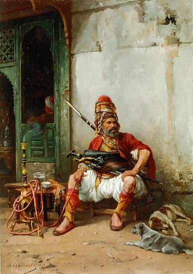 Chlebowski-Turk.jpg Orientalists Paintings Gallery