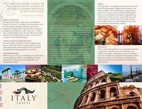 40+ Beautiful Travel Brochure Design Examples