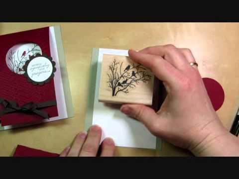 Window Flip Card Tutorial - Serene Silhouettes Sympathy Card: Julie's Stamping Spot