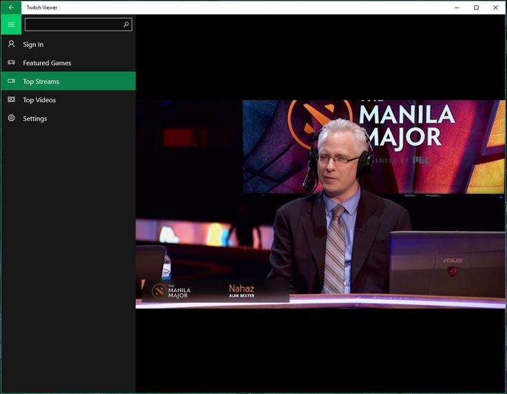 Suto Stream for Windows 10 Application video stream via