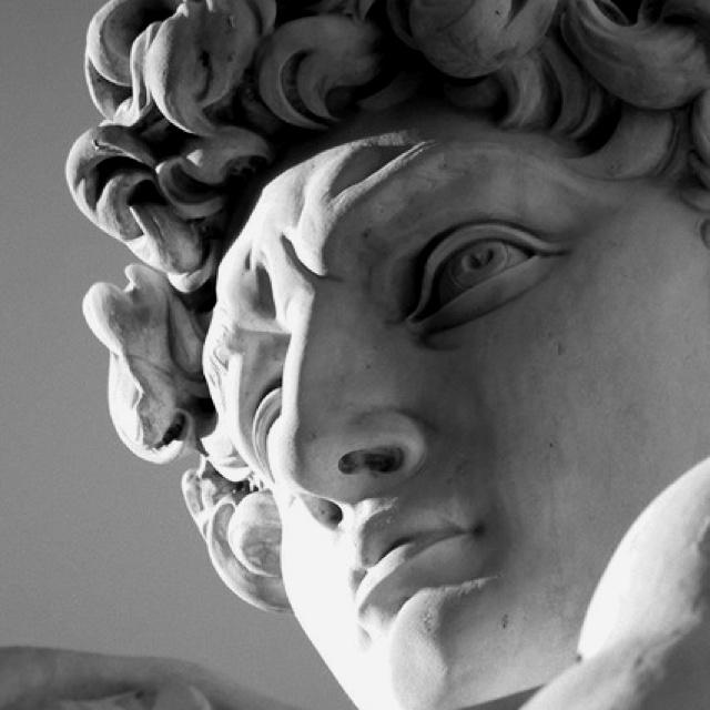 David (1504) - Michelangelo - Galleria dell'Academia, Firenze - Visualized 2012