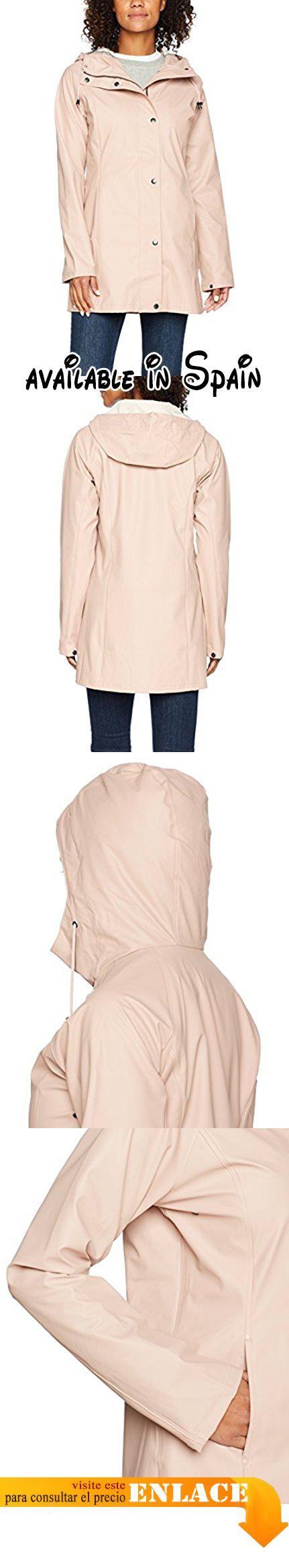 B074JCJGMX : Ilse Jacobsen Damen Regenjacke RAIN87 Chaqueta Impermeable para Mujer Rosa (Adobe Rose 378) 38. #Ropa #OUTERWEAR