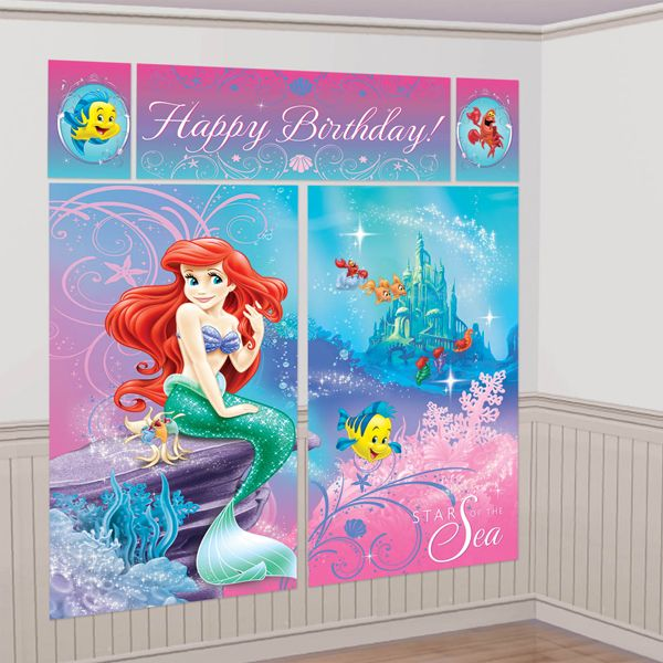 17 best images about under the sea party on pinterest for Ariel decoration