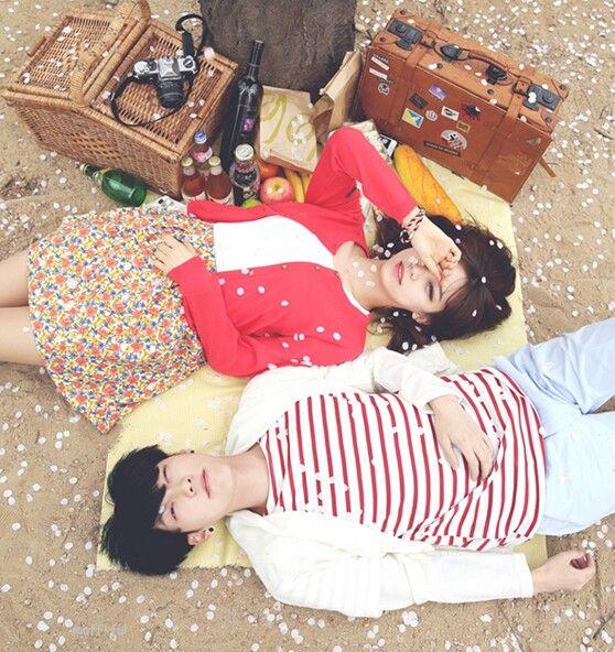 Our sakura moment ♡