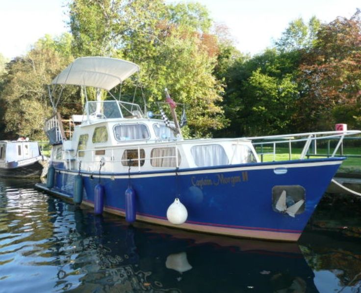 Dutch steel motor cruiser similar to Pedro, Boat, Yacht, River, Canal | eBay