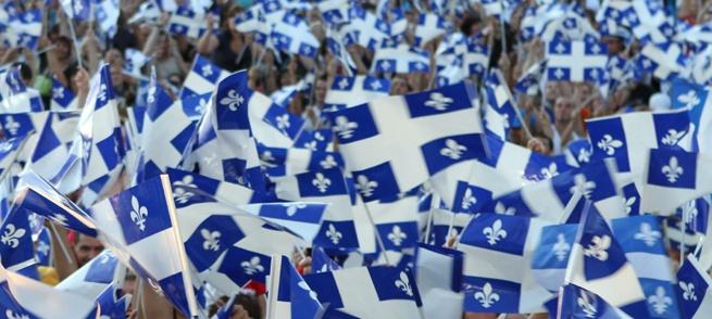 La Fête nationale du Québec à Montreal / St-Jean Baptiste Parade