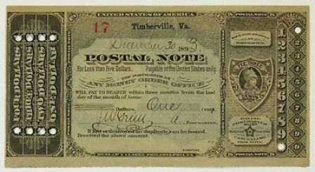 Antique Postal Notes | 1883 - 1894 | Value and Price Guide ...