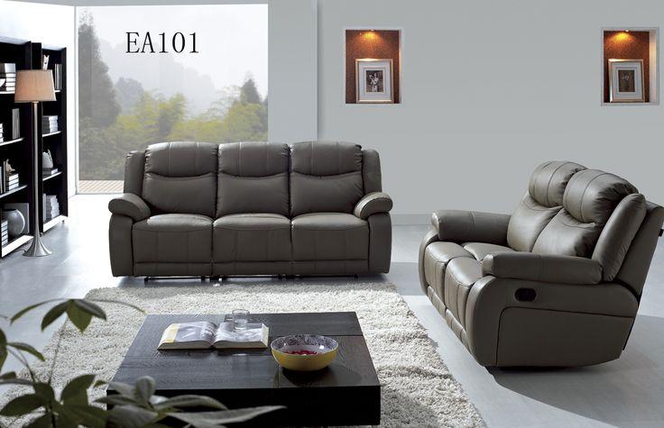 Комплект тройка состоит из трехместного дивана - кровати , двухместного дивана - трансформера (реклайнер), кресла - реклайнера фиксированного, обивка из кожи и кож. зам (задняя часть)  #шангриламебель #мебель #интерьер #декор #оформление