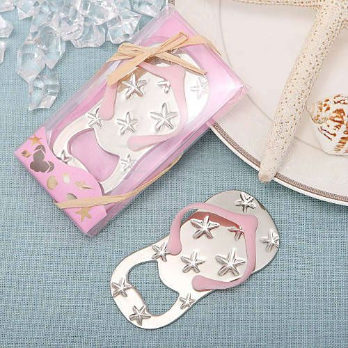 Find More Event & Party Supplies Information about Free Shipping  wedding favor Flip Flop Bottle Opener in Beach Themed Gift Box wine tool  Hotel Supplies GIfts Baby Shower,High Quality bottle opener magnet,China opener ring Suppliers, Cheap bottle thermometer from Personalized Wedding Favor  FEIS INTL GROUP on Aliexpress.com