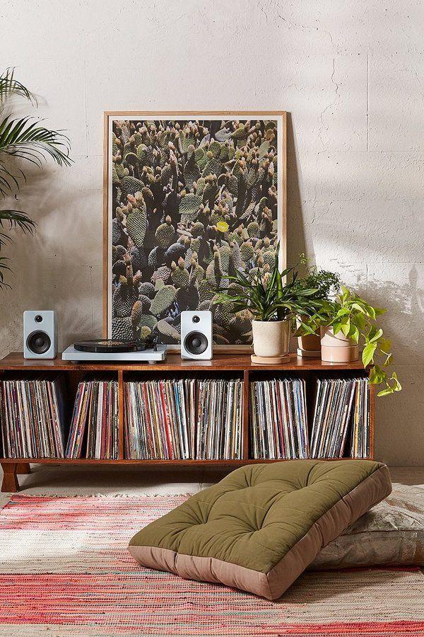 Living Room Den Ideas Part - 42: Love This Bohemian Inspired Music Den.