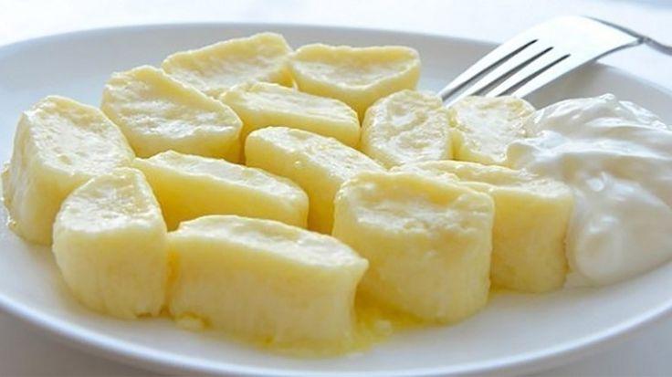 Colțunași leneși din brânză de vaci