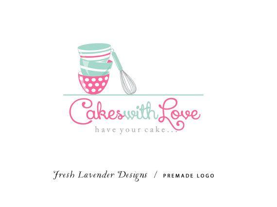Custom Logo Design Premade Logo and by FreshLavenderDesigns