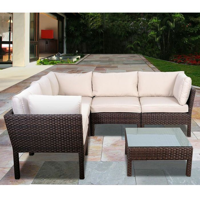 Beautiful Modulares Outdoor Sofa Island Pictures - Globexusa.us ...