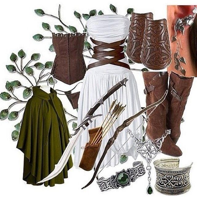 Girl Legolas costume