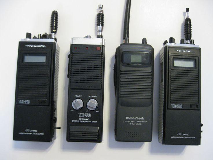 REALISTIC TRC216 TRC220 TRC225 CB CITIZENS BAND RADIO PARTS OR REPAIR #Realistic